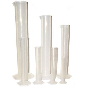 Seven-Piece Graduated Polypropylene Cylinder Set