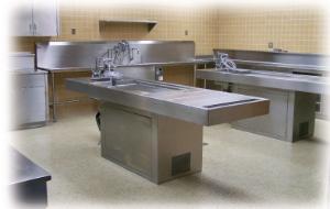 Pedestal Autopsy Tables, Mortech®