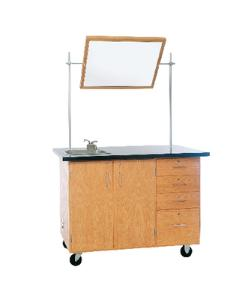 Deluxe Mobile Lab Table