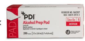 Alcohol Prep Pads 200 pack