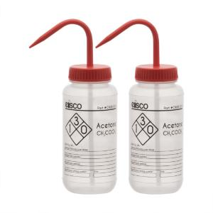 Wash bottles, Acetone, 500 ml