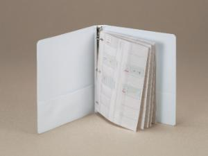 View-Pack Microscope Slide Holder Binder Pages
