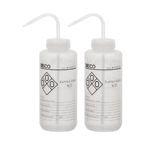 Wash bottles, distelled water, 1000 ml