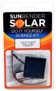Solar LED Jar Light Kit (Pre-Wired)