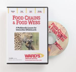 Interactive Whiteboard Science Lesson CD: Food Chains & Food Webs