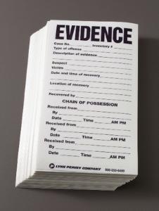 Crime Scene Supplies