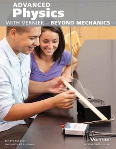 Advanced Physics with Vernier - Beyond Mechanics