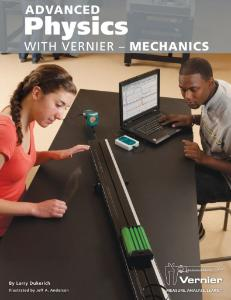 Advanced Physics with Vernier - Mechanics