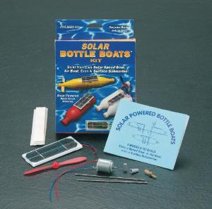 Solar Bottle Boats Kit