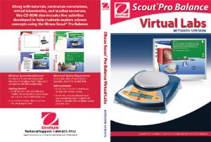 Scout® Pro Balance Virtual Lab Bundle, Ohaus®