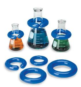 Weighted Rings for Flasks