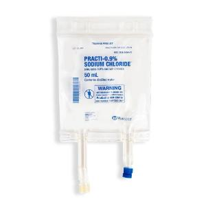 PRACTI-Sodium chloride IV bag