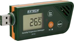 Humidity and Temperature Datalogger with USB