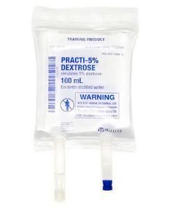 PRACTI-Dextrose 5% IV bag