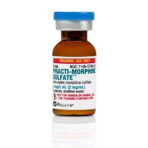 PRACTI-Morphine sulfate 2 mg/ml (tinted)