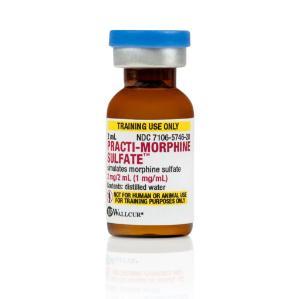 PRACTI-Morphine sulfate 1 mg/ml (tinted)