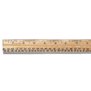 """12"""" Hardwood Ruler"""