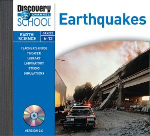 Earthquakes CD-ROM