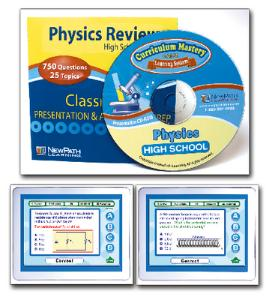 NewPath HS PHYSICS Interactive Whiteboard Digital Download-Site License