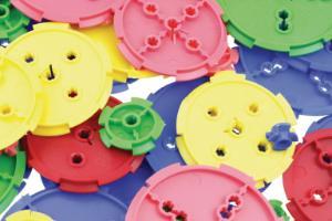 TeacherGeek Pulley Set - 40-PIECE mixed colors
