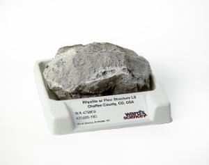 Rhyolite - Gray LS w/flow structure