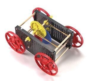 TeacherGeek Rubber Band Racer