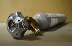 Hydrogen Cylinder, 56L Disposable