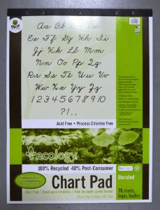 Pad Chart Paper