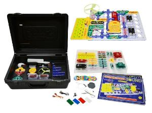 Snap Circuits Light & Sound Combo in Case