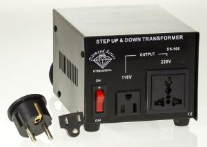 500 Watt Type 3 Voltage Converter, Step Up and Step Down Voltage Transformer