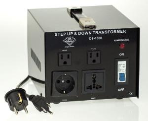 1000 Watt Type 3 Voltage Converter, Step Up and Step Down Voltage Transformer