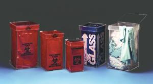 VWR® Acrylic Waste Containers