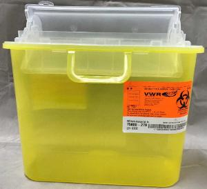 VWR® Sharps Container Systems, Bracket Compatible, Multiple Colors