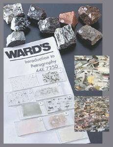 Ward's® Intro to Petrography Thin Sections and Rock Set