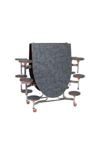 Stool Mobile Table