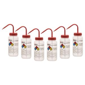 Wash bottle, acetone, 500 ml