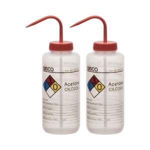 Wash bottle, acetone, 1000 ml