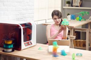 DaVinci Jr 2.0 Mix 3D Printer