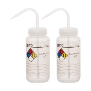 Wash bottle, distilled water, 500 ml