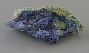 Azurite Mineral Display