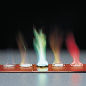 Large Scale Flame Test Demo