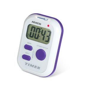 Single channel electronic timer with triple alarms