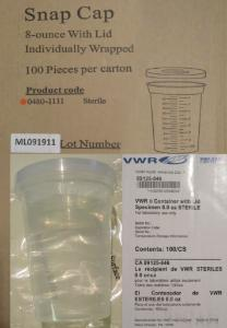 VWR® Polypropylene Specimen Containers