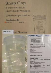 VWR® Polypropylene Specimen Containers