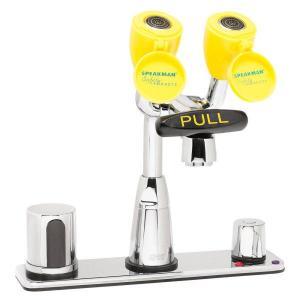 Eyesaver® Deck Plate Faucet and Eyewash Combination, Speakman®