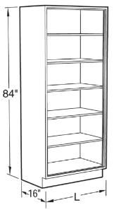 VWR® Contour™ Full Height Storage Cabinets