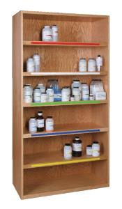 Chemical Shelving Unit
