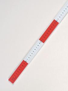 Flat Plastic Meter Stick
