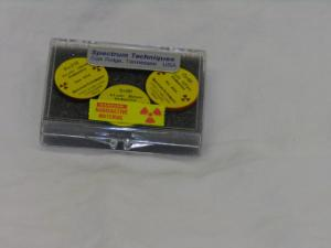 Radioactive Source, Set of 3