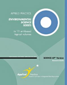 AP Environmental Science Preparation Series by Applied Practice